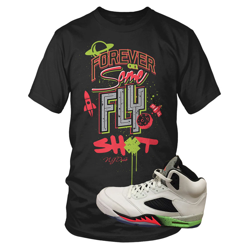 0a70976d7ab5c0 Shirts to Match the Jordan 5s Poison Space Jam Shoes – X Gear 101 ...