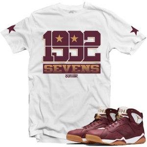 Cigar 7s Sneaker Shirts