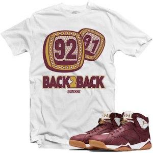 Jordan 7s Cigar Shirts