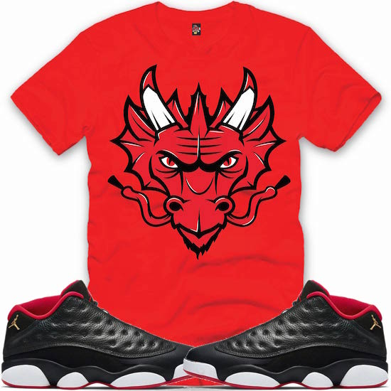 296408bfe5224d Sneaker Shirts to match the Jordan Low 13s Bred Shoes – X Gear 101 ...