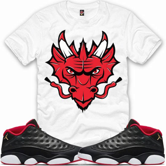 cba4865e558a Sneaker Shirts to match the Jordan Low 13s Bred Shoes – X Gear 101 ...