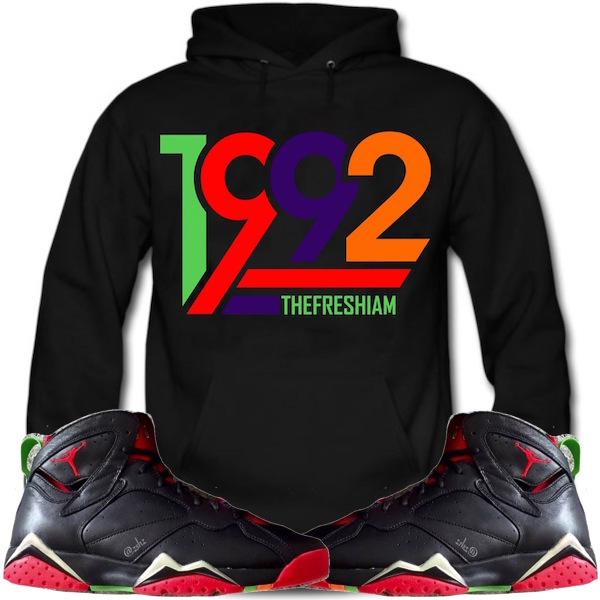 Jordan 7 Martian Hoodie