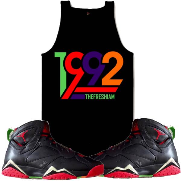 8e1e5af144c699 Jordan 7 Martian Crewneck Sweat Shirt. 1992 Martian 7s Crewneck by The Fresh  I Am