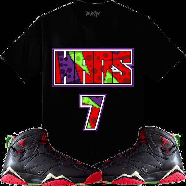 a752de4ecad Jordan 7 Marvin the Martian Sneaker Shirts – X Gear 101 Blog ...