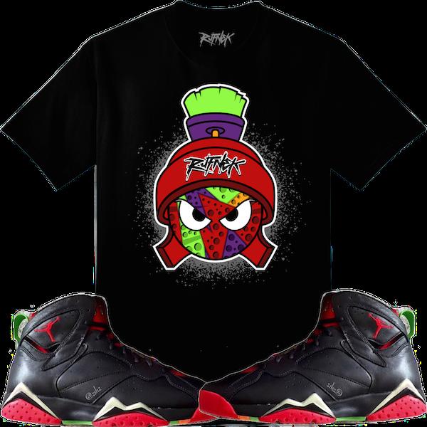 Jordan Martian 7s Sneaker Shirt