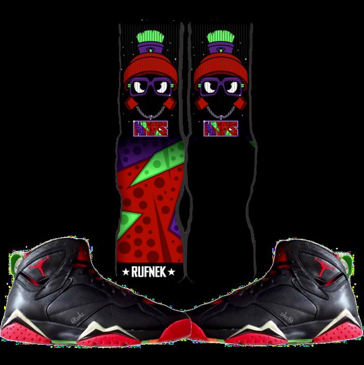 Jordan Martian 7s Socks
