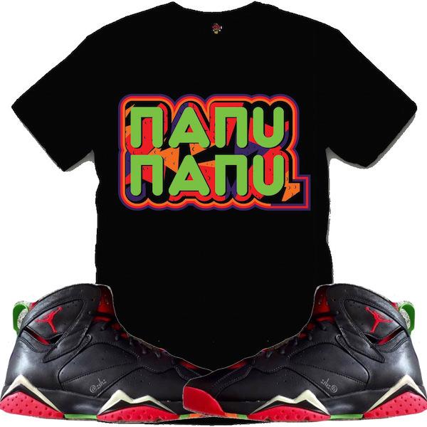 Jordan Marvin 7s Shirts