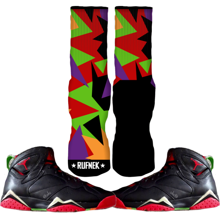 Jordan Marvin Martian 7 Sock