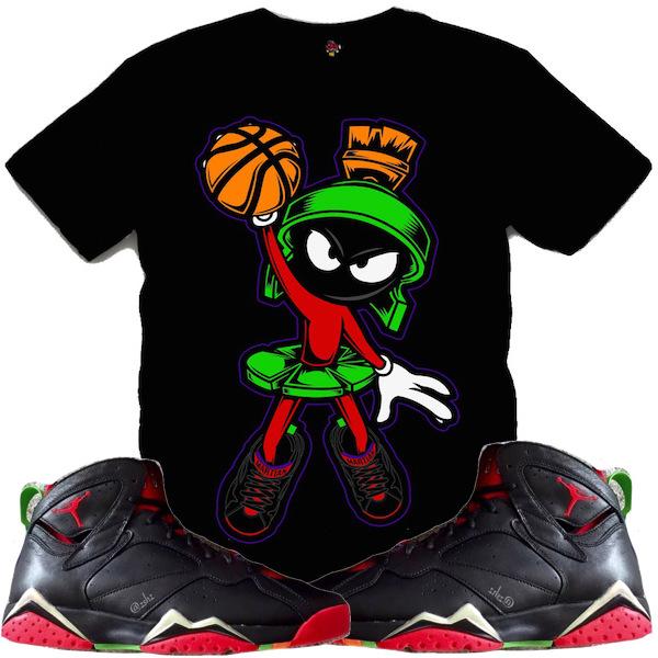 Jordan Marvin Martian 7s Shirt