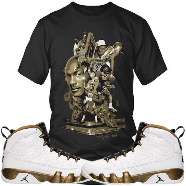 Jordan Statue 9s Shirt
