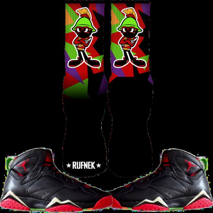 Martian 7 Custom Sock