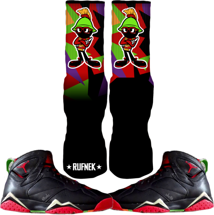 Martian 7 Custom Sock