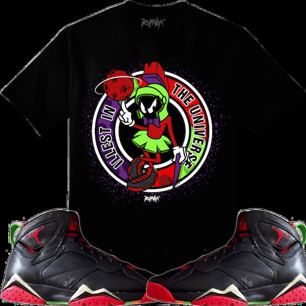 1b79f849dea0ef Jordan 7 Marvin the Martian Sneaker Shirts – X Gear 101 Blog   Sneaker Tees  to match your shoes