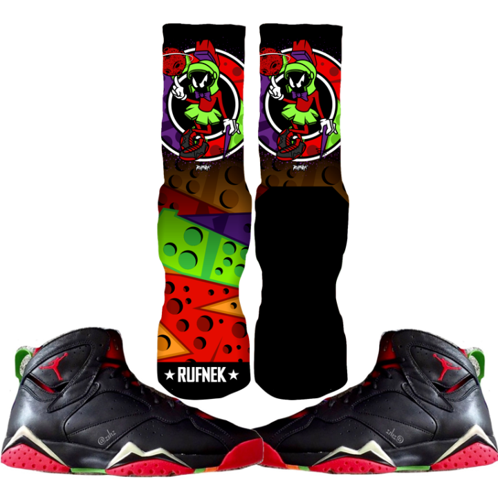 Martian 7s Custom Socks