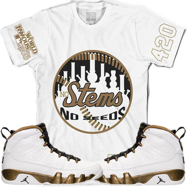 Shirt to match Jordan 9 Statue