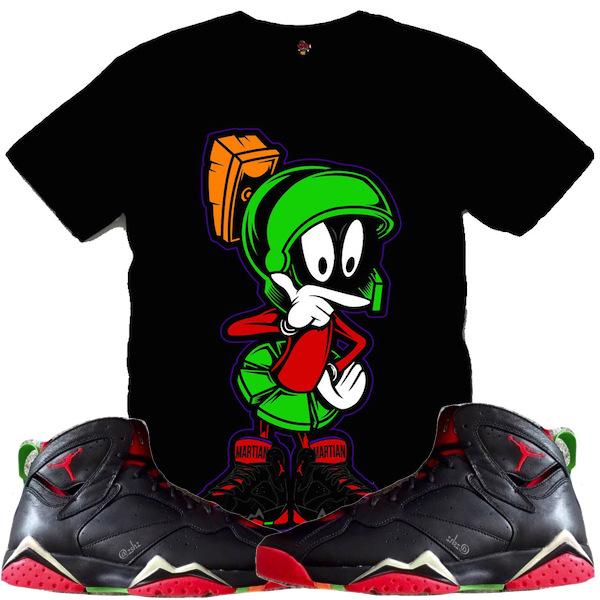 Shirt to Match Martian 7s Jordan