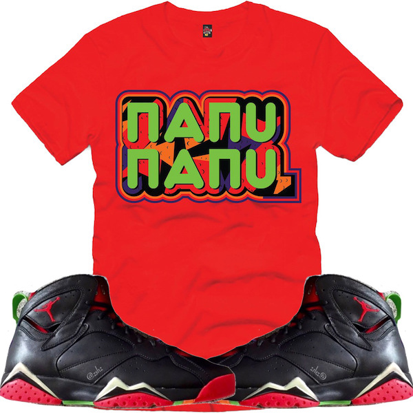 Shirt to Match Marvin 7s
