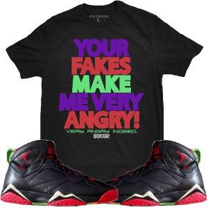 Sneaker Shirt Martian 7s