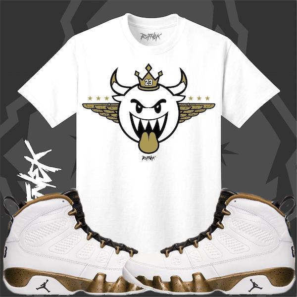 Sneaker Tee Shirt Jordan 9 Statue