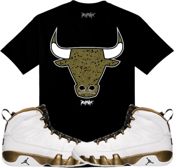 54062ba3307 Jordan Retro 9 Militia Statue Sneaker Shirts | X Gear 101 Blog ...