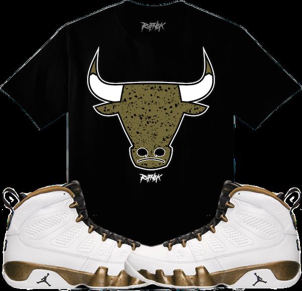 Statue 9s Sneaker Shirt