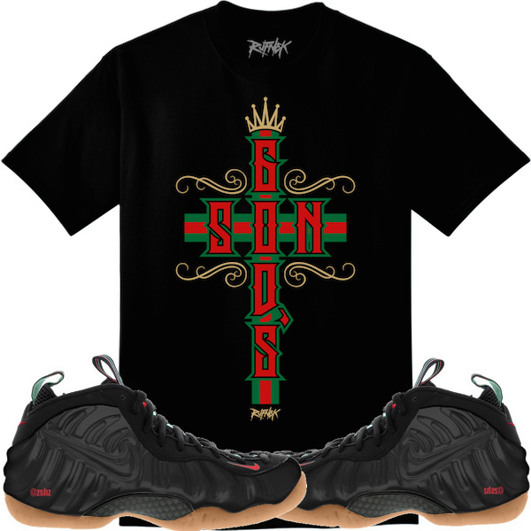 Gucci Foamposites Sneaker Shirts and Custom Socks   EXCLUSIVE ... 6ad18108b