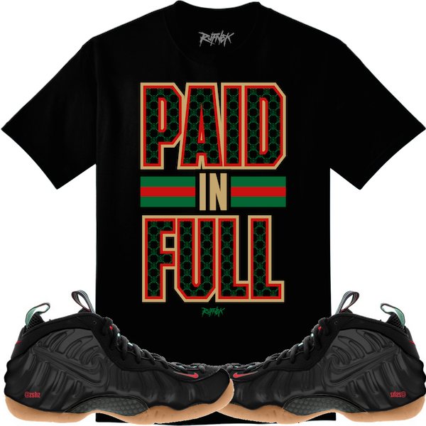 084ca92df93ee2 Gucci Foamposites Sneaker Shirts and Custom Socks   EXCLUSIVE ...