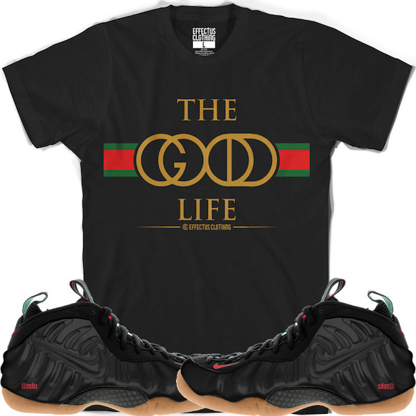low priced 3efd3 f992d Gucci Foamposites Tees