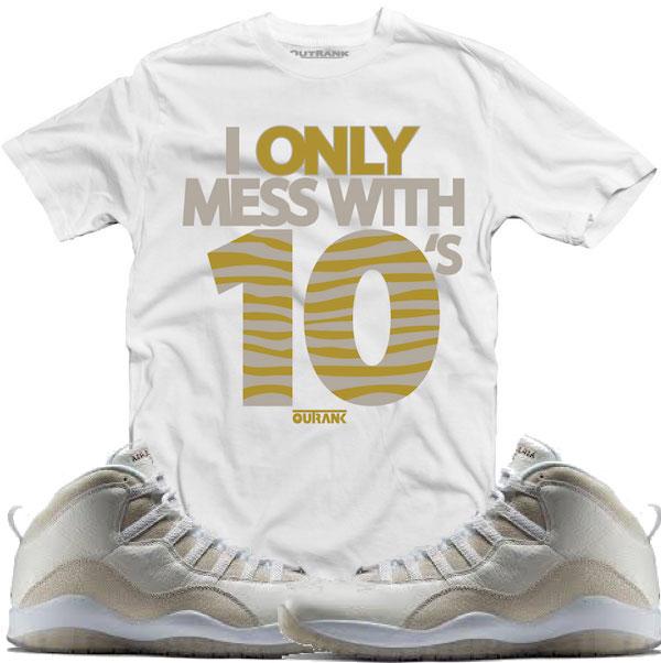 Jordan 10 Ovo Drake Shirt