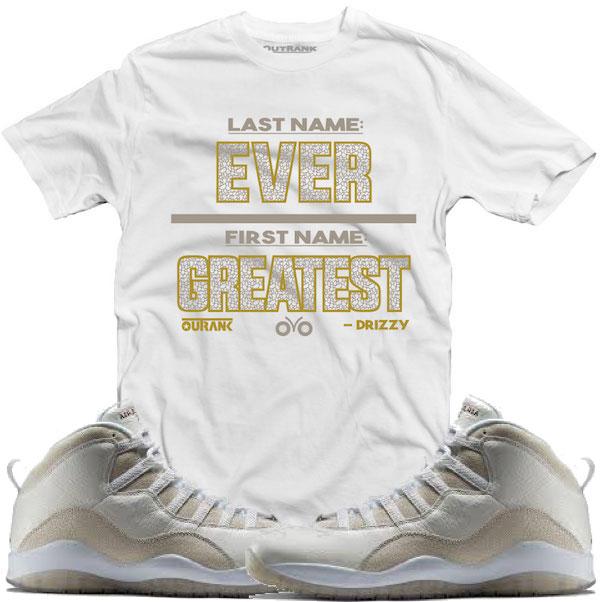Jordan 10s Drake Ovo Shirts
