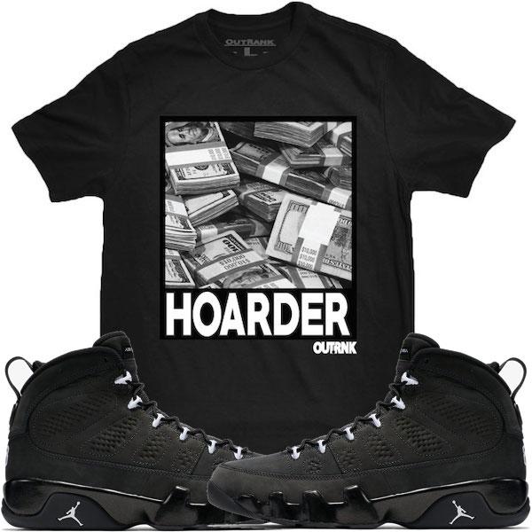 Jordan Anthracite 9s Tee Shirt