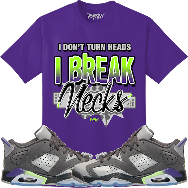 Jordan Retro 6 Ultraviolet Shirt