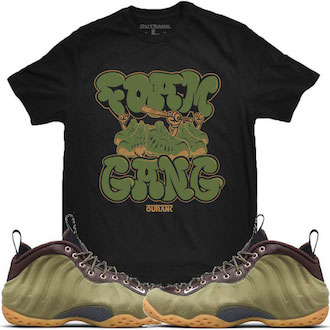 Olive Foamposite Shirt