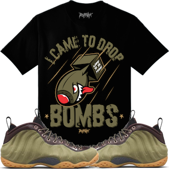 Olive Foams Shirt