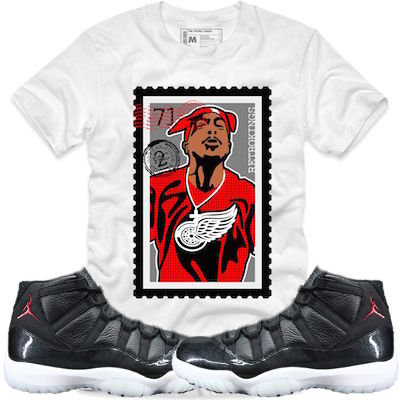 huge selection of 3c9b2 ea57d Shirts for the Jordan 11s 72-10