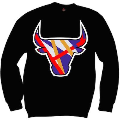 3 Peat 8s sweaters