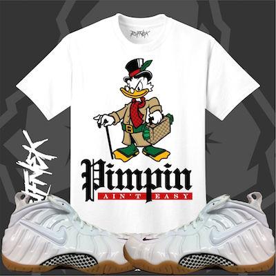 Foams white gucci shirt