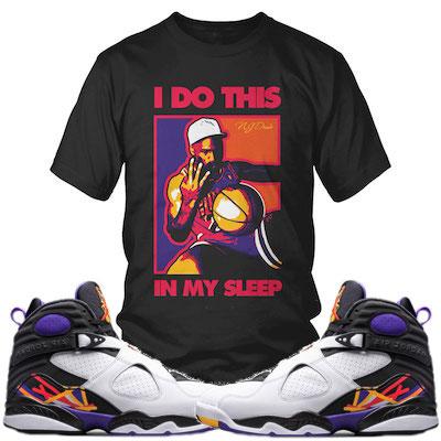 Jordan 8 Three Peat sneakershirts