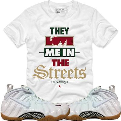 4787d4536df8 White Gucci Foamposites | Sneaker Shirts | Crewnecks | Socks – X ...