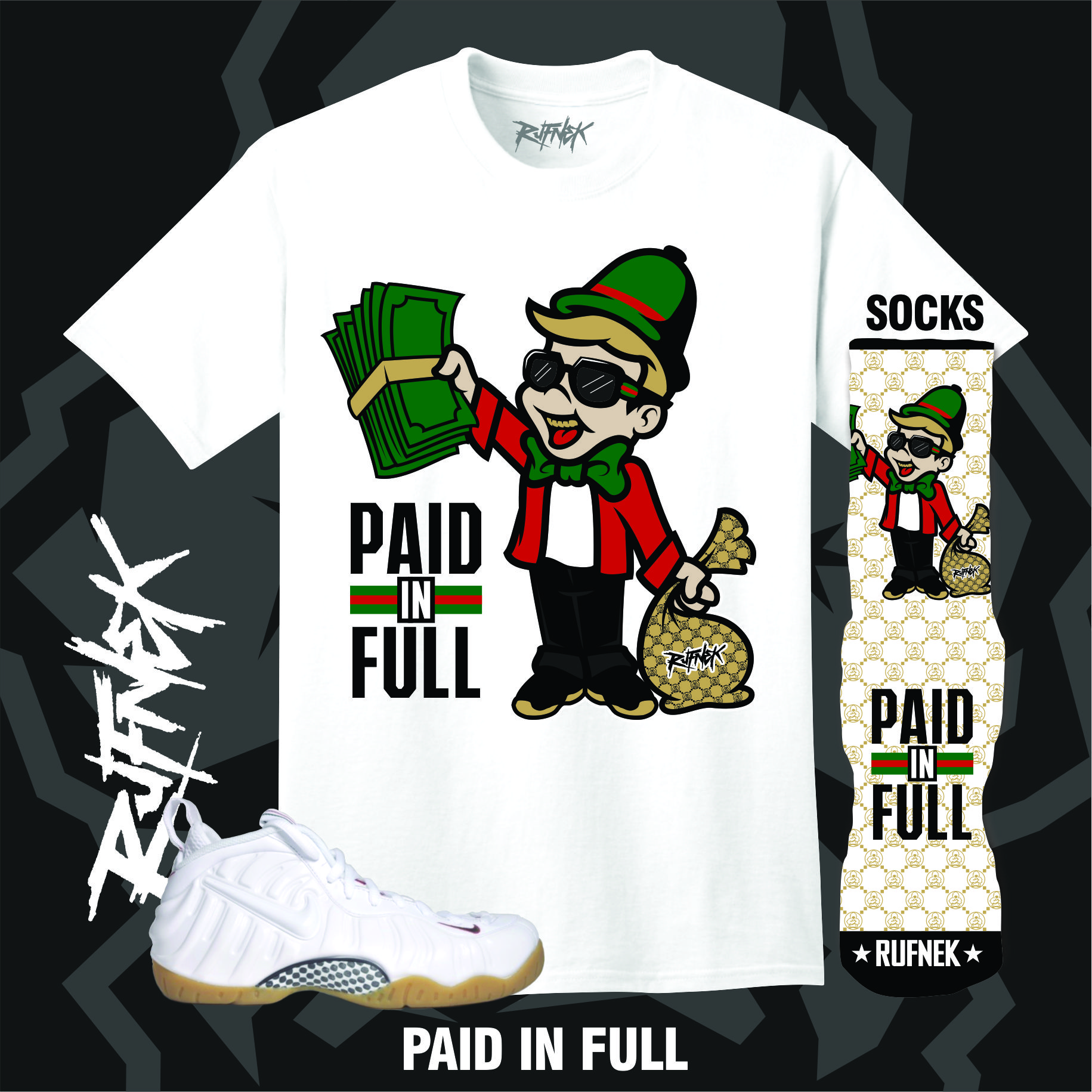 44dab13dc White Gucci Foamposites Sneaker Outfits – X Gear 101 Blog : Sneaker ...