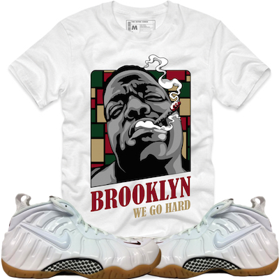 White Gucci Foams Retro Kings Shirt