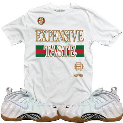 White Gucci Foams Sneakertees