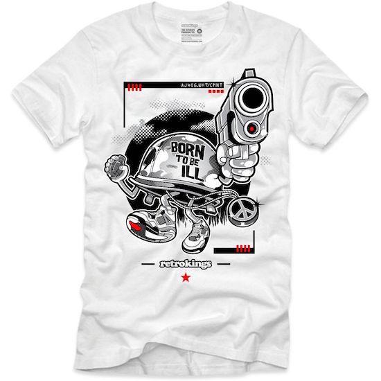 white cement 4s shirt