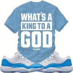 "ffc84d35b2c30a Match Sneaker Tees – Jordan Retro 11 Low ""UNC"" Shirts – X Gear 101 ..."