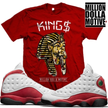 jordan-13-chicago-cherry-sneaker-tees-shirts-matching
