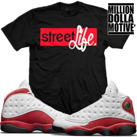 match-jordan-13-chicago-cherry-sneaker-tees-shirts