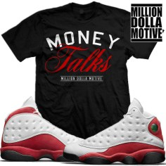 matching-jordan-13-chicago-cherry-sneaker-tees-shirts