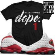 sneaker-tees-shirts-jordan-13-chicago-cherry